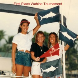 1st Wahine tournament