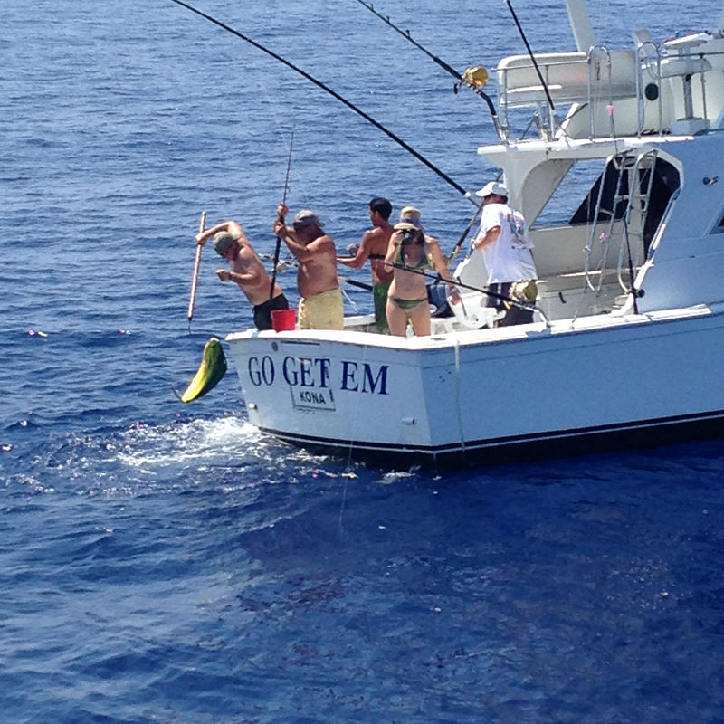 Go get 39 em kona hawaii fishing charter for Kona fishing charters
