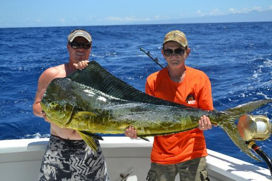Hooked up kona hawaii fishing charter for Kona fishing charters